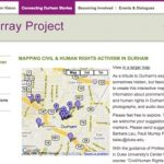 Students map civil and human rights in Durham