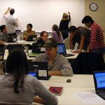 Spring teaching and technology courses for graduate students