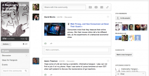 """Irrational Behavior"" Google+ Community"