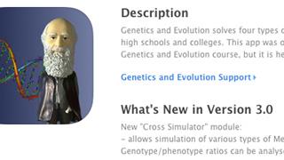 Genetics and Evolution App