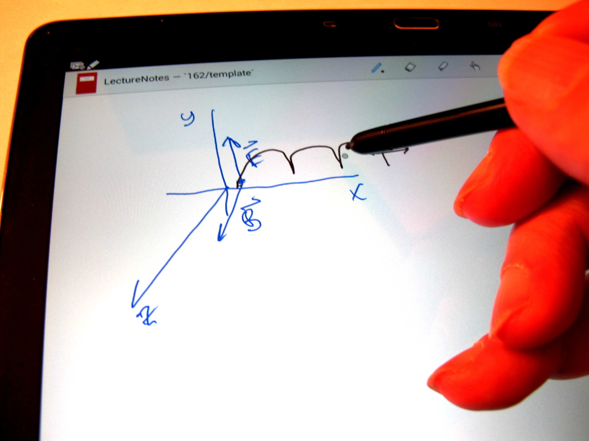 Using An Android Tablet With Active Stylus To Create