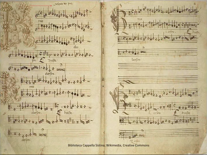 Ave Maria manuscript