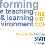 "Virtual Conference: ""Transforming the Teaching & Learning Environment"""
