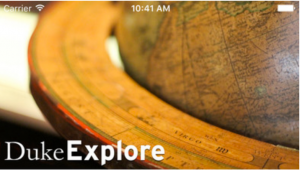 Duke Explore application icon