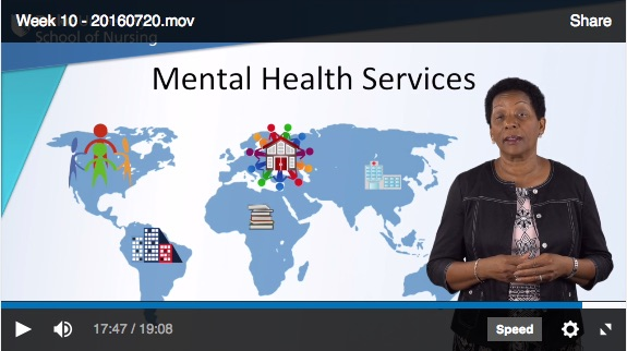 Mental health services video